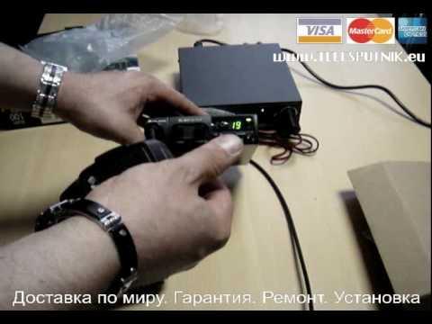 Настройка автомобильной антенны 27МГц с помощью КСВметра