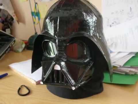 darth vader mask helmet pepakura
