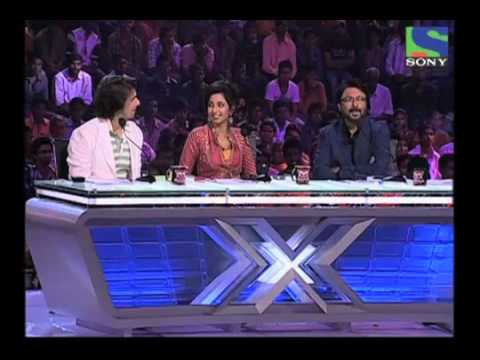 X Factor India - Kalpesh Kharwa's Gujarati Rap In The Auditions - X Factor India - Episode 4 -  1st June 2011 video