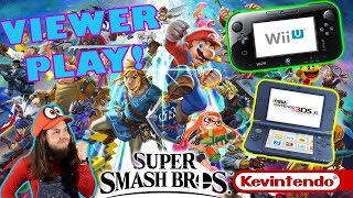 PLAY WITH ME! Smash 3DS + SSB Wii U!!!  👅| Hyped for Super Smash Bros Ultimate!!!!!!!!!