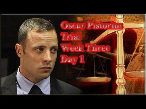 Oscar Pistorius Trial: Monday 17 March 2014, Session 1