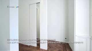 Scorrevole Centro Parete de LINVISIBILE - Pocket Door