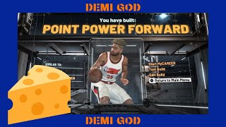 REAL UNSEEN BUILD. REAL 2K20 DEMI GOD!!!! MUST SEE!!!!