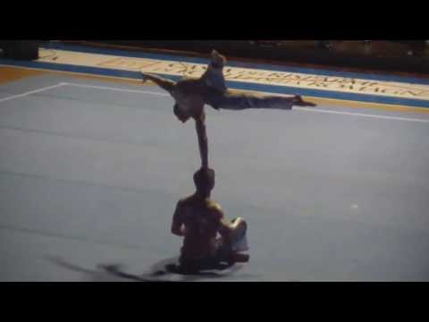Special guests of Cirque du Soleil  Acrobatic Gymnastics World Cup 2011 Forlì ITA)