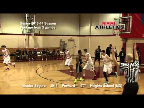 NICOLAS SEGURA -Senior 2014 Recruiting Video (The Heights School).