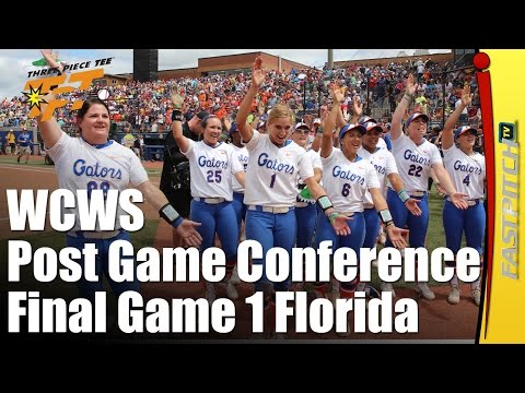 2015 WCWS Final Game 1 |  Florida | Post Game Press Conference