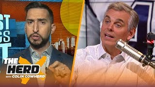 Nick Wright joins Colin to talk Dak's payday, Brady's season & Rodgers | NFL | THE HERD