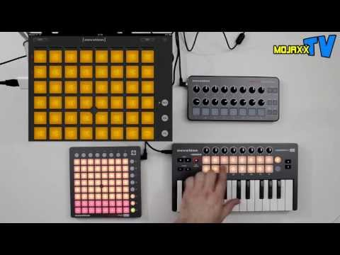 Novation Launchpad Mini, Launch Control & Launchkey Mini Walkthrough Demo