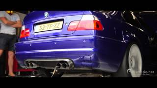 BMW E46 M3 Dyno Day! CSL Carbon Airbox
