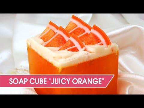 Download DIY: Orange soap cube Make glycerin citrus soap Mp3 - Free Mp3 Download