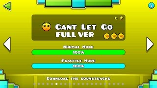 Geometry Dash - Cant Let Go (FULL VER) All Coin / ♬ Partition