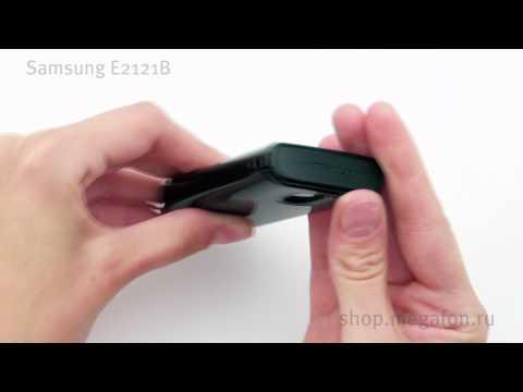 Samsung E2121B Video clips