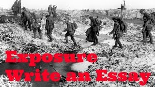 How to Write a Literature Essay, Using Wilfred Owen's Poetry
