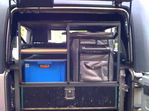 Jk Jeep Cargo Amp Draws Youtube