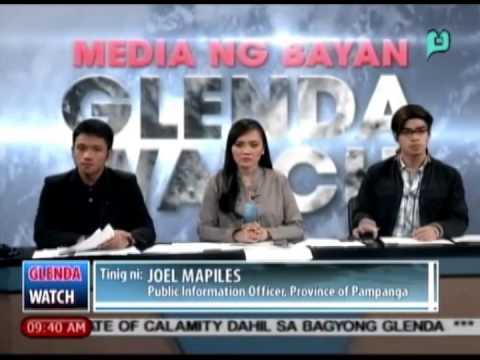 [Glenda Watch] GlendaPH update mula sa lalawigan ng Pampanga [07|16|14]