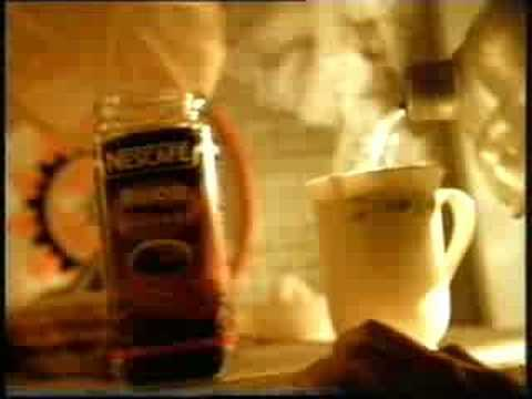 Nescafé commercial from the 90s (Version 1)