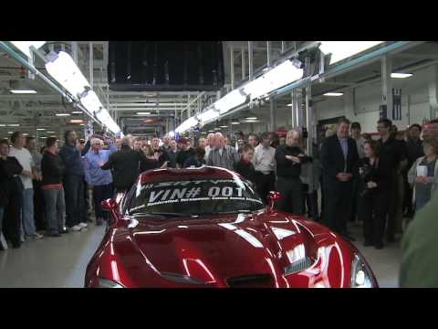 First SRT Viper delivered at a special ceremony in Detroit