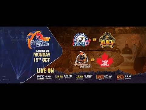 Kabaddi League 2018 | Singh Warriors Punjab V/S Mapple Leaf Canada