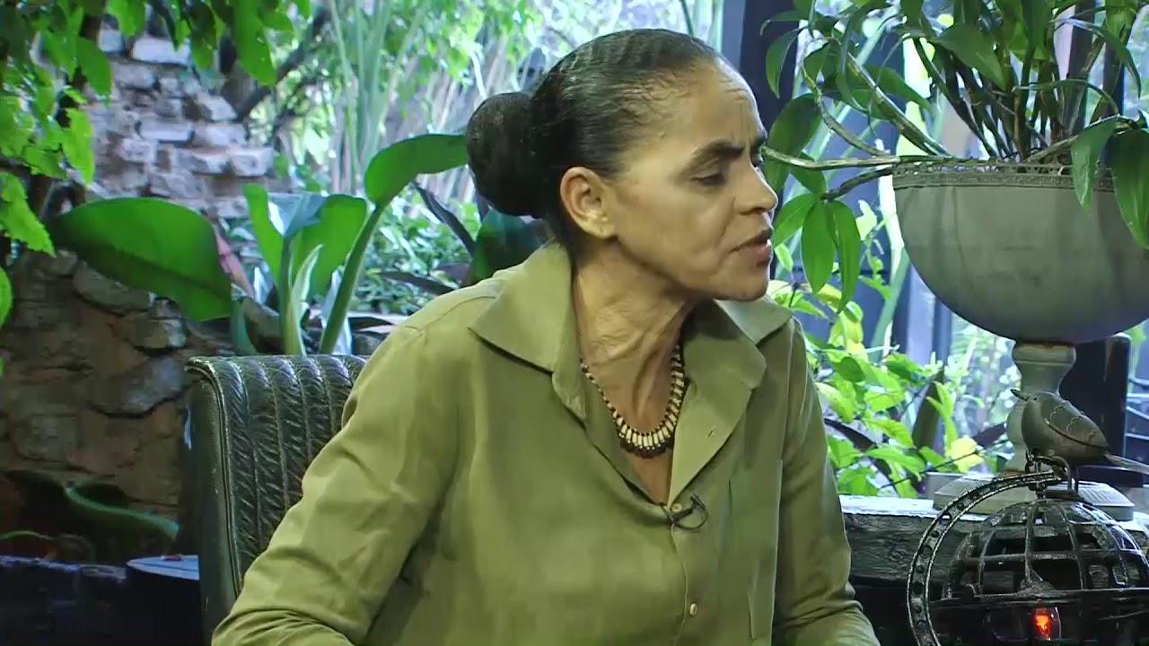 Marina Silva comenta sobre crise hídrica!
