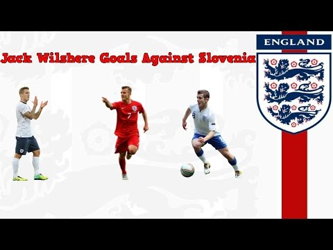 Jack Wilshere Stunning Goals || England vs Slovenia || 3-2 || 14.06.15 ||