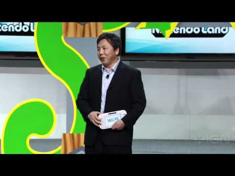 Wii U: Nintendo Land First Look - Nintendo E3 2012 Press Conference