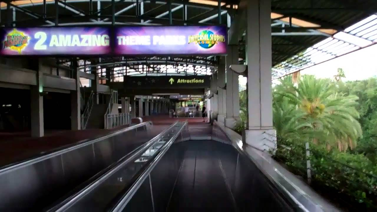 Entering Universal Orlando Resort! - YouTube