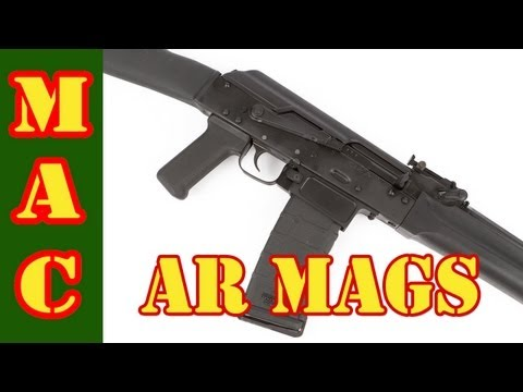 Definitive Arms - AR15 mags in an AK