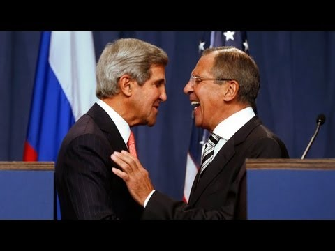 Syria: US and Russia agree deal to eliminate chemical weapons