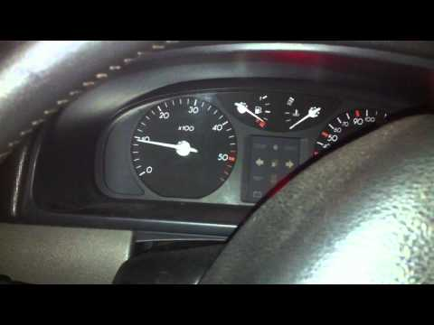 Renault Laguna II 1.9 dci, cold start