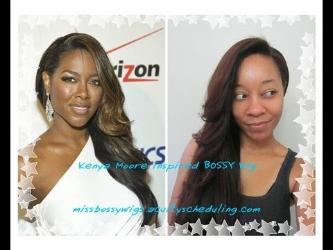 Gone With the Wind Fabulous! Kenya Moore Inspired Perfection Redefined BOSSY Wig™