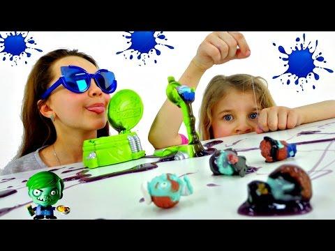 Интересные игры для детей. Развивающее видео.