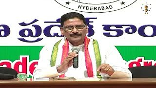 Congress Leader Marri Shashidhar Reddy Press Meet LIVE