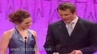 Lisa Chappell and Aaron Jeffrey Logies 2005