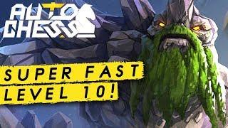 My Fastest Level 10 Ever! I | Dota Auto Chess