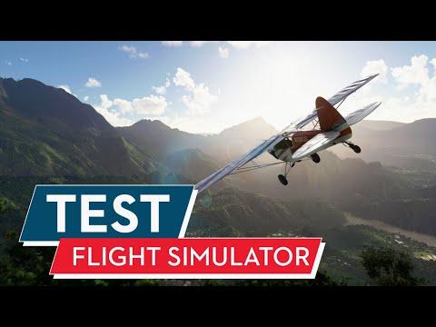 Microsoft Flight Simulator ( Series X / S ) Test / Review : Flug in den Next-Gen-Himmel