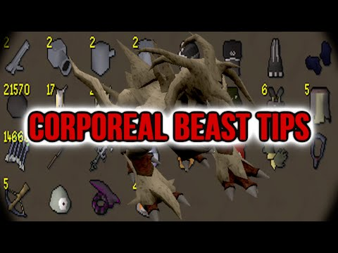 Runescape Sparc Mac's Corporeal Beast Tips!