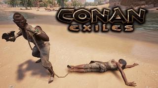 Conan Exiles - Nossa Primeira escrava #01 Ft. BaconsExtreme