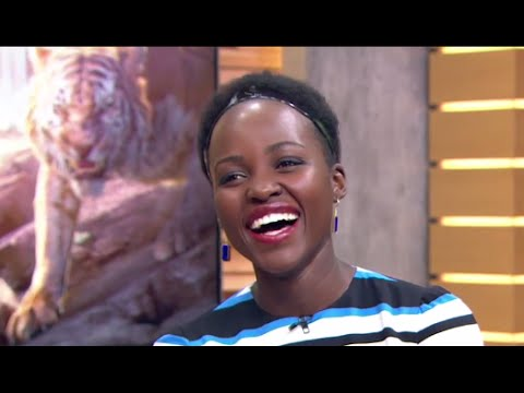 Lupita Nyong'o Talks 'The Jungle Book' on 'GMA'