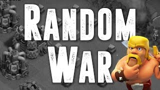 Random Wars #03 | Clash of Clans