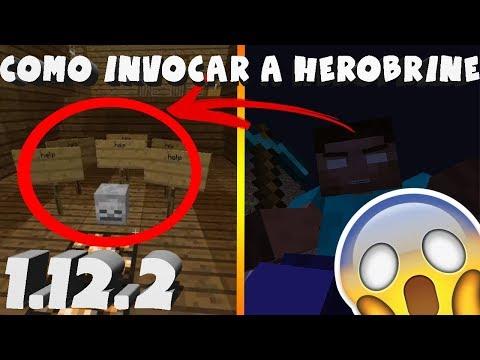 😱Como invocar a Herobrine en Minecraft 1.12.2!! Octubre 2017