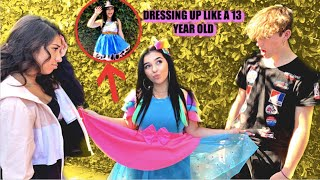 Dressing Up Like A 13 Year Old!