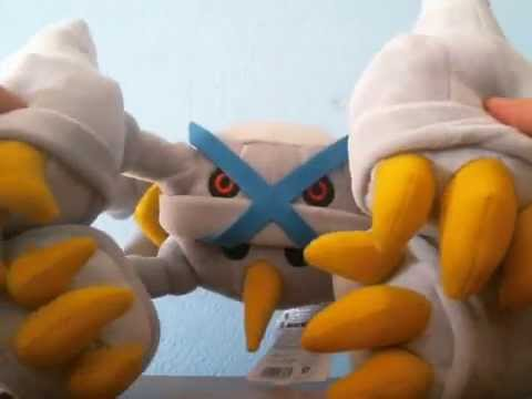 Metagross vs Shiny Metagross ▶ Shiny Mega Metagross Plush