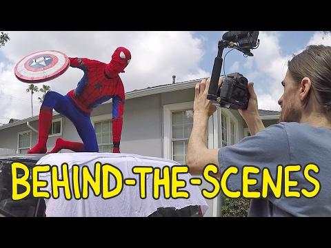Spider-Man: Homecoming - Homemade Movies Behind the Scenes thumbnail