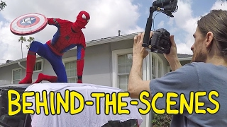 Spider-Man: Homecoming - Homemade Movies Behind the Scenes