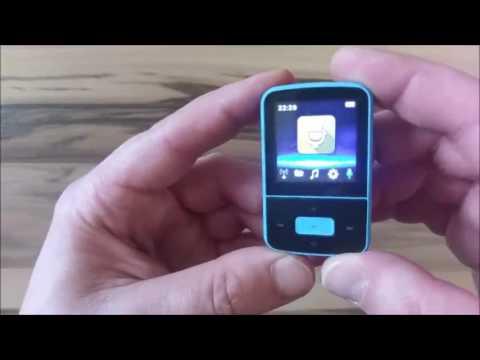 AGPTek G05 8GB MP3 Player Mini Clip MP3 Tragbare Musik Player, Top Preis, Leistung bei minimalem Gew