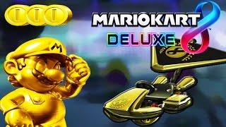 Goldener Mario, Goldene Kartteile, Münzen Farmen - [Beschreibung lesen!] Mario Kart 8 Deluxe (