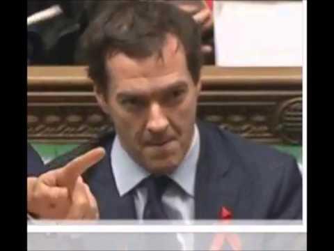George Osborne Little Fluffy Clouds
