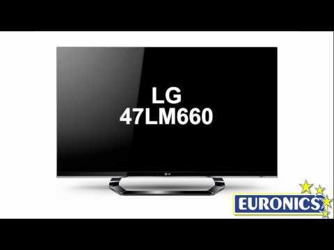 TV LED 3D LG 47LM660