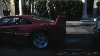 London Supercars 8th January 2011 - F40, LP640, LP560 + More accelerations