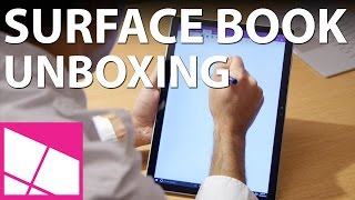 Surface Book unboxing & first impressions